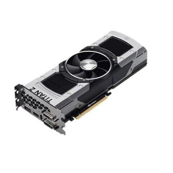 GTXTITANZ-12GD5 ASUS GeForce GTX TITAN Z 12GB GDDR5 768-Bit PCI Express 3.0 DVI/HDMI/ DisplayPort/ HDCP Support Video Graphics Card