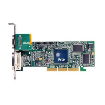 253275-001 HP Matrox Millennium G550 dual-head AGP 4x Video Graphics Card Professi