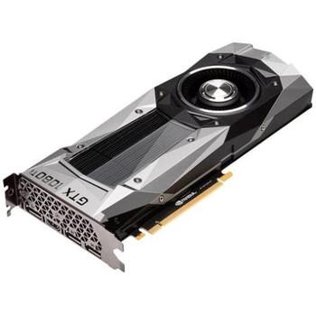 GTX1080TI-FE Asus GeForce GTX 1080 Ti Graphic Card 1.48 GHz Core 1.58 GHz Boost Clock 11GB GDDR5X PCI Express 3.0 352 bit Bus Width SLI Fan Cooler Ope