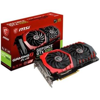 G1060GXP6 MSI GTX 1060 GAMING X+ 6G GeForce GTX 1060 Graphic Card 1.59 GHz Core 1.81 GHz Boost Clock 6GB GDDR5 PCI Express 3.0 x16