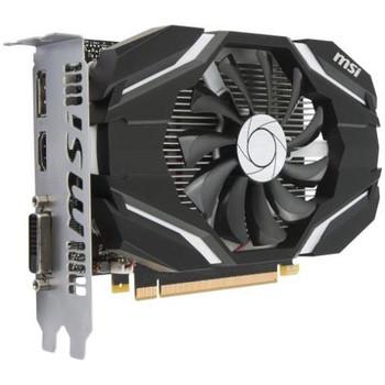 G1050T4C MSI GTX 1050 Ti 4G OC GeForce GTX 1050 Ti Graphic Card 1.34 GHz Core 1.46 GHz Boost Clock 4GB GDDR5 PCI Express 3.0 x16