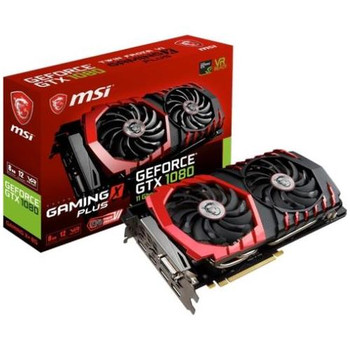 G1080GXP8 MSI GTX 1080 GAMING X+ 8G GeForce GTX 1080 Graphic Card 1.71 GHz Core 1.85 GHz Boost Clock 8GB GDDR5X PCI Express 3.0 x16