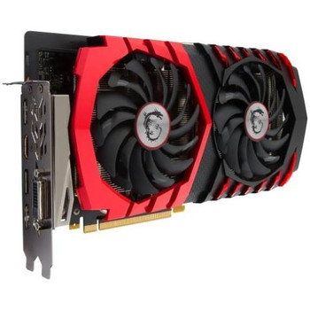 G1060GX6 MSI GTX 1060 GAMING X 6G GeForce GTX 1060 Graphic Card 1.59 GHz Core 1.81 GHz Boost Clock 6GB GDDR5 PCI Express 3.0 x16