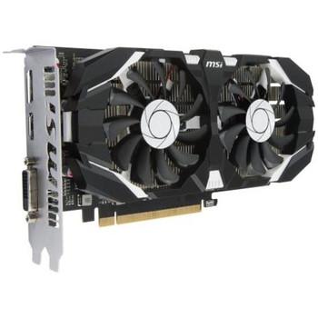 G1050T4TC MSI GTX 1050 TI 4GT OC GeForce GTX 1050 Ti Graphic Card 1.34 GHz Core 1.46 GHz Boost Clock 4GB GDDR5 PCI Express 3.0 x16