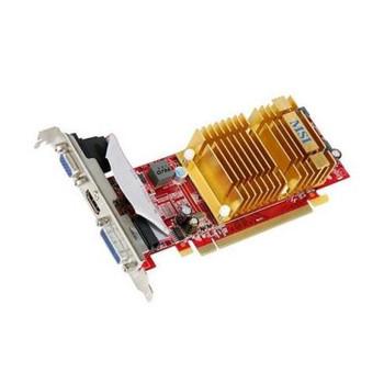R4350-MD512H-FB-R MSI Radeon HD 4350 512MB DDR2 PCI Express DVI/ VGA Video Graphics Card