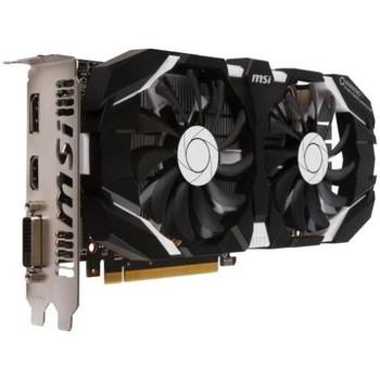 G10606TC1 MSI GTX 1060 6GT OCV1 GeForce GTX 1060 Graphic Card 1.54 GHz Core 1.76 GHz Boost Clock 6GB GDDR5 PCI Express 3.0 x16