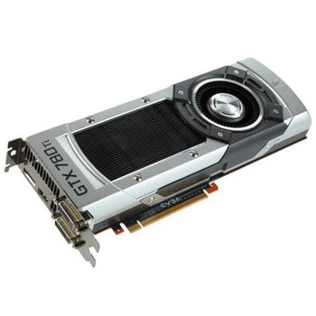 03G-P4-2883-KR EVGA GeForce GTX 780 Ti Superclocked 3GB GDDR5 384-bit DVI-I/ DVI-D/ HDMI/ DisplayPort/ SLI Support PCI Express 3.0 x16 Video Graphics