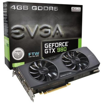 04G-P4-2986-KR EVGA GeForce GTX 980 4GB GDDR5 PCI Express 3.0 x16 HDMI/ Displayport/ Dvi Video Graphics Card