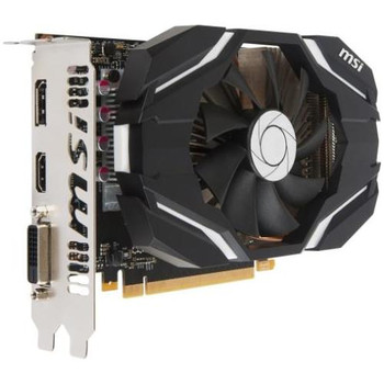 G10603C1 MSI GTX 1060 3G OCV1 GeForce GTX 1060 Graphic Card 1.54 GHz Core 1.76 GHz Boost Clock 3GB GDDR5 PCI Express 3.0 x16