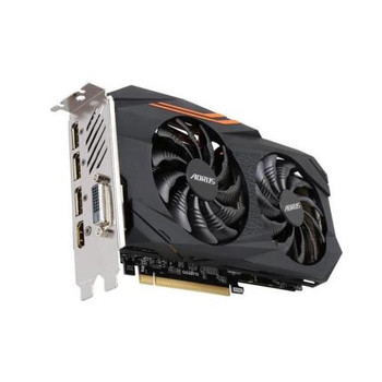 GV-RX580AORUS-8GD Aorus Radeon RX 580 Graphic Card 1.37 GHz Core 1.38 GHz Boost Clock 8GB GDDR5 PCI Express 3.0 x16 Dual Slot Space Required