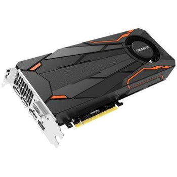 GV-N1080TTOC-8GD Gigabyte GeForce GTX 1080 8GB GDDR5X 256-Bit HDMI / 3x DisplayPort / Dual-Link DVI-D PCI Express 3.0 x16 Video Graphics Card