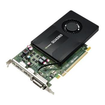 K2200 Nvidia Quadro 4GB GDDR5 128-Bit PCI Express 2.0 x16 Dual Link DVI/ DisplayPort Video Graphics Card