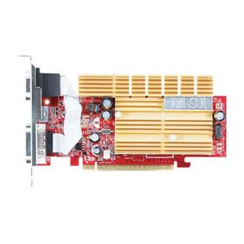 NX7300LE-TD128EH MSI GeForce 7300LE 128MB GDDR2 64-Bit HDTV / D-Sub / DVI PCI Express x16 Video Graphics Card