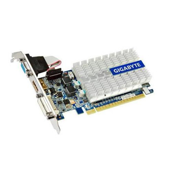 GV-N210SL-1GI Gigabyte Video Card nVidia Geforce210 PCI Express 2.0 1GB DDR3 SDRAM