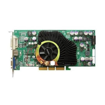 600-50162-0004 Nvidia 128MB AGP Video Graphics Card With DVI and VGA Outputs