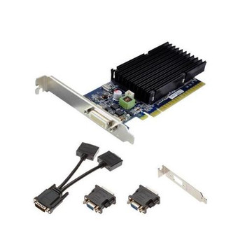 VCG84DMS1D3SXPB-CG-A PNY GeForce 8400GS DMS Commercial Series 1GB 64-Bit DDR3 PCI Express 2.0 x16 DMS-59 Low Profile Video Graphics Card
