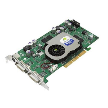 351382-001 HP Nvidia Quadro FX1100 AGP 8x 128MB DDR2 Dual DVI Video Graphics Card