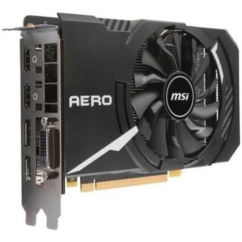G1060AI3C MSI GTX 1060 AERO ITX 3G OC GeForce GTX 1060 Graphic Card 1.54 GHz Core 1.76 GHz Boost Clock 3GB GDDR5 PCI Express 3.0 x16