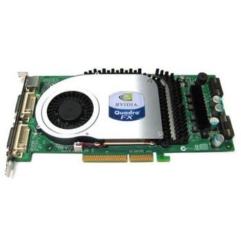 600-50201-0002-202 Nvidia Quadro FX 4000 256MB 256-Bit GDDR3 Dual DVI AGP 8x Video Graphics Card
