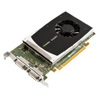 VCQ2000D-PB PNY Quadro 2000D 1GB 128-Bit GDDR5 PCI Express 2.0 x16 Dual DVI Video Graphics Card
