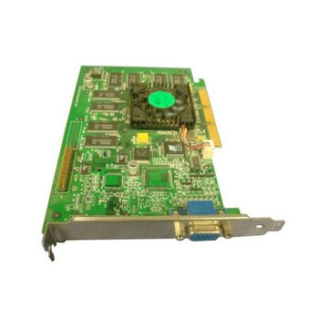 9830U Dell Nvidia Geforce 256 32MB AGP 4x VGA Video Graphics Card