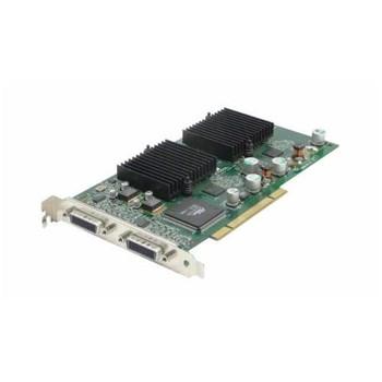 AA605A HP NVIDIA Quadro4 400NVS 64MB DDR SDRAM (2048 x 1536 Max Resolution) DVI-I Connectors PCI Video Card