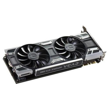 08G-P4-6181-KR EVGA GeForce GTX 1080 Graphic Card 1.61 GHz Core 1.73 GHz Boost Clock 8GB GDDR5X PCI Express 3.0 x16 Dual Slot Space Required