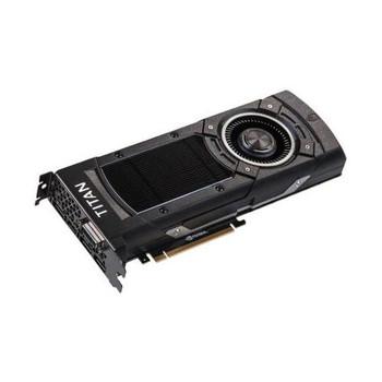 12G-P4-2990-KR EVGA GeForce GTX TITAN X 12GB GDDR5 384-bit DVI-I/ HDMI/ 3x DisplayPort HDCP Ready SLI Support PCI Express 3.0 Video Graphics Card