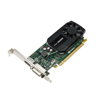 00FC809 Lenovo Quadro K620 2GB DDR3 PCIe x16 DVI DisplayPort Low Profile SFF Graphics Card by nVidia