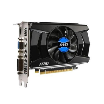 N750TI-2GD5/OCV1 MSI GeForce GTX 750Ti 2GB 128-Bit GDDR5 PCI-Express 3.0 D-SUB HDMI Video Graphics Card