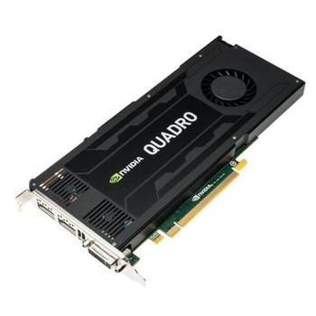 K4200 Nvidia Quadro 4GB GDDR5 256-Bit PCI Express 2.0 x16 Dual Link DVI/ DisplayPort Video Graphics Card