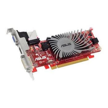 90-C1CP2U-L0UANAYZ ASUS Radeon HD 5450 1GB DDR3 64-Bit PCI Express 2.1 DVI/ D-Sub/ HDMI/ HDCP Support Video Graphics Card
