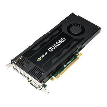 VCQK4200PB PNY Nvidia Quadro K4200 4GB GDDR5 256-bit PCI Express 2.0 x16 Dual Link DVI/ DisplayPort Workstation Video Graphics Card