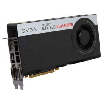 04G-P4-3688-AR EVGA GeForce GTX 680 Classified 4GB 256-bit GDDR5 PCI