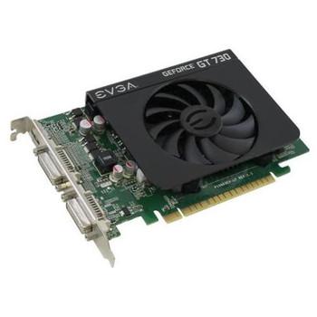02G-P3-2738-KR EVGA GeForce GT 730 2GB 128-Bit DDR3 PCI Express 2.0 x16 DVI-I/ mini-HDMI Video Graphics Card