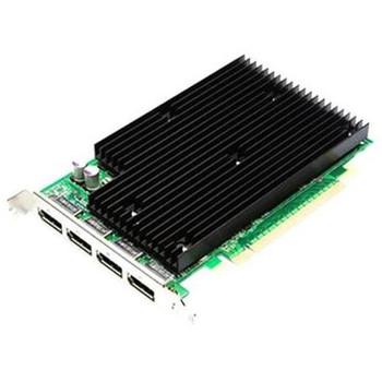 900-50624-0300-001 Nvidia Quadro NVS 450 512MB GDDR3 (256MB per GPU) 128-Bit (64-bit per GPU) PCI Express x16 4x DisplayPort Workstation Video Graphic
