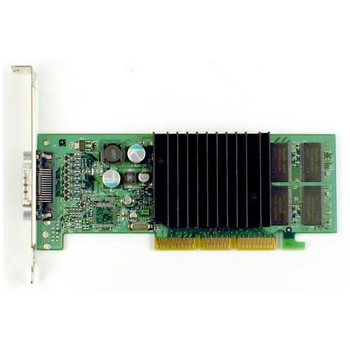 D33088 Dell 64MB nVidia G-force4 AGP Video Graphics Card