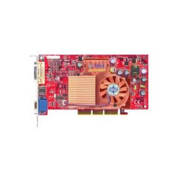 FX5600XT-VTDR128 MSI 128MB DDR SDRAM AGP 8x (2048 x 1536 Max Resolution) DVI-I VGA Composite Video and S-Video Connectors Video Graphics Card