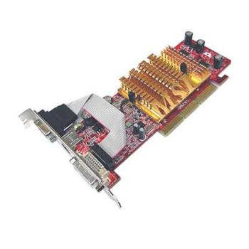 FX5200-TD128LF MSI nVidia GeForce FX 5200 128MB DDR 64-Bit DVI/ D-Sub/ S-Video Out/ AGP 8x Video Graphics Card