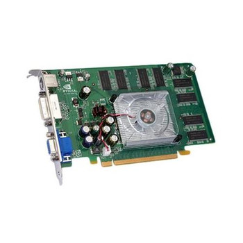 VCQFX540-PCIE PNY Quadro FX 540 128MB 128-Bit DDR PCI Express x16 Workstation Video Graphics Card
