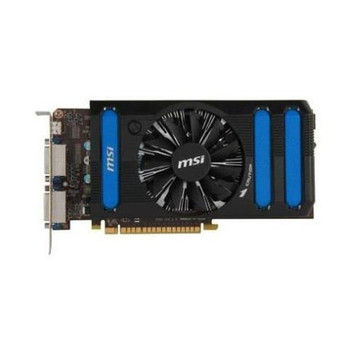 GT7102GD5HLP MSI Nvidia GeForce GT 710 2GB GDDR5 64-Bit HDMI / D-Sub / Dual-Link DVI-I PCI-Express 2.0 x16 Video Graphics Card GT 710 2GD5H LP