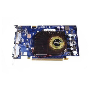 5188-6245 HP NVIDIA GeForce 7600GT 256MB PCI-Express Dual DVi/S-Video Graphics Card