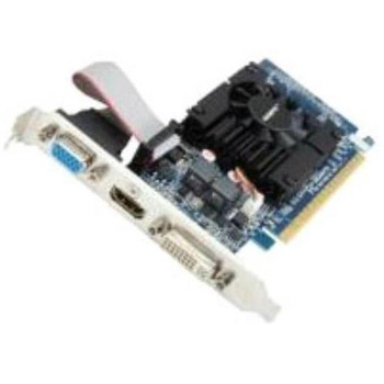 GV-N610-1GI Gigabyte GeForce GT 610 Graphic Card 810 MHz Core 1GB DDR3 SDRAM PCI Express 2.0 x16 Low-profile Single Slot Space Required