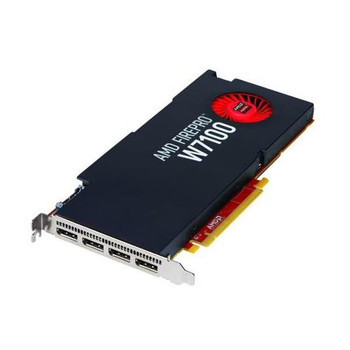 100-505975 AMD FirePro W7100 Graphic Card 8GB GDDR5 PCI Express 3.0 x16 Full-length/Full-height Single Slot Space Required