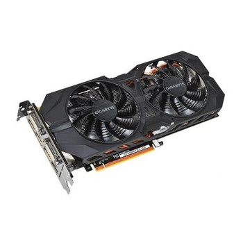 GV-N960WF2OC-2GD Gigabyte GeForce GTX 960 Graphic Card 1.22 GHz Core 1.28 GHz Boost Clock 2GB GDDR5 PCI Express 3.0 Dual Slot Space Required