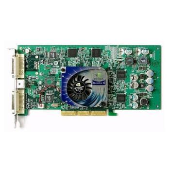 308961-003 HP Nvidia Quadro4 980XGL AGP 8x 128MB DDR Dual DVI Video Graphics Card