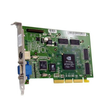 231024-001 HP Nvidia GeForce 2MX 32MB AGP Video Card with TV-Out