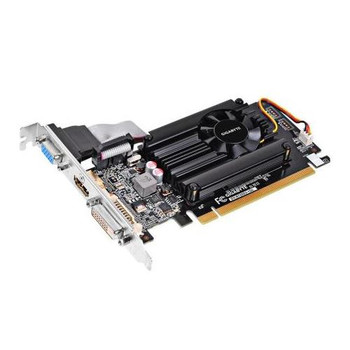 GV-N720D3-1GL Gigabyte Ultra Durable 2 GeForce GT 720 Graphic Card 797 MHz Core 1GB DDR3 SDRAM PCI Express 2.0 x8 Low-profile Dual Slot Space Required