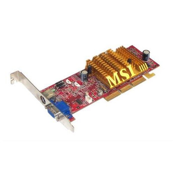 RX9250-T64 MSI RADEON 9250 Graphics Card