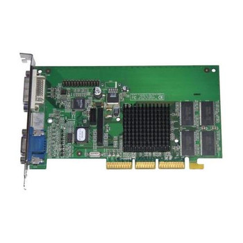 244278-001 HP Nvidia AGP 32MB Video Graphics Card